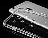 Dafoni Crystal Dream iPhone 6 / 6S Taşlı Şeffaf Silikon Kılıf - Resim 4