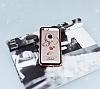 Dafoni Crystal Dream iPhone SE / 5 / 5S Taşlı Necklace Şeffaf Silikon Kılıf - Resim 1