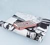 Dafoni Crystal Dream iPhone SE / 5 / 5S Taşlı Necklace Şeffaf Silikon Kılıf - Resim 2