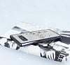 Dafoni Crystal Dream Samsung Galaxy Note 8 Taşlı Loved Şeffaf Silikon Kılıf - Resim 1