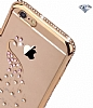 Dafoni Crystal Dream Samsung Galaxy Grand Prime / Prime Plus Taşlı Necklace Silver Kenarlı Silikon Kılıf - Resim 1