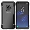 Dafoni Duro Samsung Galaxy S9 Plus Ultra Koruma Siyah Kılıf - Resim 1