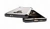 Dafoni Fit Hybrid Asus Zenfone 3 Laser ZC551KL Siyah Kenarlı Şeffaf Kılıf - Resim 2