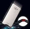 Dafoni Fit Hybrid Asus Zenfone 3 Laser ZC551KL Şeffaf Kenarlı Şeffaf Kılıf - Resim 1