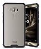 Dafoni Fit Hybrid Asus Zenfone 3 Laser ZC551KL Siyah Kenarlı Şeffaf Kılıf - Resim 12