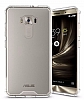 Dafoni Fit Hybrid Asus Zenfone 3 Laser ZC551KL Şeffaf Kenarlı Şeffaf Kılıf - Resim 10