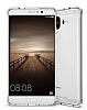 Dafoni Fit Hybrid Huawei Mate 9 Şeffaf Kılıf - Resim 5