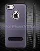 Dafoni Level Shield iPhone 7 / 8 Standlı Ultra Koruma Gold Kılıf - Resim 1