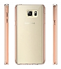Dafoni Fit Hybrid Samsung Galaxy Note 5 Rose Gold Kılıf - Resim 2