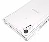 Dafoni Fit Hybrid Sony Xperia XA1 Şeffaf Kılıf - Resim 2