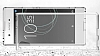 Dafoni Fit Hybrid Sony Xperia XA1 Ultra Siyah Kenarlı Şeffaf Kılıf - Resim 3
