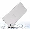 Dafoni Fit Hybrid Sony Xperia XA1 Ultra Şeffaf Kenarlı Şeffaf Kılıf - Resim 5