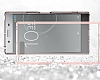 Dafoni Fit Hybrid Sony Xperia XZ Premium Şeffaf Kılıf - Resim 4