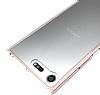 Dafoni Fit Hybrid Sony Xperia XZ Premium Şeffaf Kılıf - Resim 1