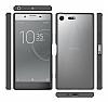Dafoni Fit Hybrid Sony Xperia XZ Premium Şeffaf Kılıf - Resim 5