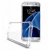 Dafoni Fit Hybrid Samsung Galaxy S7 Edge Şeffaf Kılıf - Resim 1