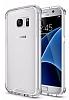 Dafoni Fit Hybrid Samsung Galaxy S7 Edge Şeffaf Kılıf - Resim 9