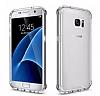 Dafoni Fit Hybrid Samsung Galaxy S7 Edge Şeffaf Kılıf - Resim 4