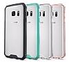 Dafoni Fit Hybrid Samsung Galaxy S7 Edge Şeffaf Kılıf - Resim 8