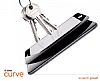 Dafoni General Mobile GM 5 Plus Curve Tempered Glass Premium Full Beyaz Cam Ekran Koruyucu - Resim 5