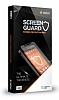 Dafoni General Mobile GM6 Curve Tempered Glass Premium Full Beyaz Cam Ekran Koruyucu - Resim 6
