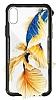 Dafoni Glass Shield iPhone 7 / 8 Beyaz Silikon Kenarlı Cam Kılıf - Resim 9