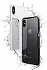 Dafoni Glass Shield iPhone 7 / 8 Beyaz Silikon Kenarlı Cam Kılıf - Resim 2