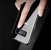 Dafoni Glass Shield Samsung Galaxy Note 8 Silikon Kenarlı Cam Siyah Kılıf - Resim 11
