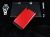 Dafoni HTC Desire 816 Slim Power Ultra Koruma Kırmızı Kılıf - Resim 2