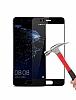 Dafoni Huawei P10 Plus Curve Tempered Glass Premium Full Siyah Cam Ekran Koruyucu - Resim 6