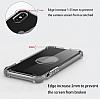 Dafoni Hummer Huawei P Smart Ultra Koruma Silikon Kenarlı Şeffaf Kılıf - Resim 3