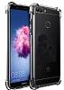 Dafoni Hummer Huawei P Smart Ultra Koruma Silikon Kenarlı Şeffaf Kılıf - Resim 2