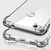 Dafoni Hummer Huawei P9 Lite 2017 Ultra Koruma Silikon Kenarlı Şeffaf Kılıf - Resim 2