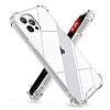 Dafoni Hummer iPhone 13 Pro Ultra Koruma Silikon Kenarlı Şeffaf Kılıf