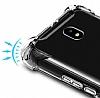 Dafoni Hummer Samsung Galaxy J7 Pro 2017 Ultra Koruma Silikon Kenarlı Şeffaf Kılıf - Resim 6