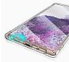 Dafoni Hummer Samsung Galaxy Note 20 Ultra Süper Silikon Kenarlı Şeffaf Kılıf - Resim 2