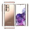 Dafoni Hummer Samsung Galaxy Note 20 Ultra Süper Silikon Kenarlı Şeffaf Kılıf - Resim 5