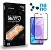 Dafoni iPhone 11 Full Mat Nano Premium Siyah Ekran Koruyucu