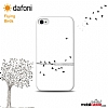 iPhone SE / 5 / 5S Flying Birds Kılıf - Resim: 1