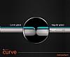 Dafoni iPhone 6 / 6S Curve Tempered Glass Premium Kırmızı Full Cam Ekran Koruyucu - Resim 2