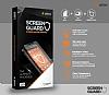 Dafoni iPhone 6 / 6S Ön + Arka Tempered Glass Ayna Siyah Cam Ekran Koruyucu - Resim 5
