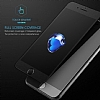 Dafoni iPhone 6 Plus / 6S Plus Curve Tempered Glass Premium Full Beyaz Mat Cam Ekran Koruyucu - Resim 4