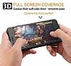 Dafoni iPhone 6 Plus / 6S Plus Curve Tempered Glass Premium Full Siyah Mat Cam Ekran Koruyucu - Resim 1