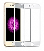 Dafoni iPhone 6 Plus / 6S Plus / 6S Plus Tempered Glass Premium Gold Ön + Arka Metal Kavisli Ekran Koruyucu - Resim: 6
