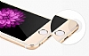 Dafoni iPhone 6 Plus / 6S Plus / 6S Plus Tempered Glass Premium Gold Ön + Arka Metal Kavisli Ekran Koruyucu - Resim: 8