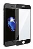 Dafoni iPhone 7 / 8 Curve Tempered Glass Premium Full Siyah Mat Cam Ekran Koruyucu - Resim 10