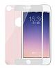 Dafoni iPhone 7 / 8 Ön + Arka Curve Tempered Glass Premium Rose Gold Cam Ekran Koruyucu - Resim 6