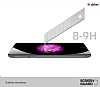 Dafoni iPhone 7 / 8 Premium Rose Gold Arka Cam Gövde Koruyucu - Resim 1