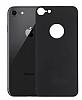 Dafoni iPhone 7 / 8 Premium Siyah Arka Cam Ekran Koruyucu - Resim 6