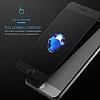 Dafoni iPhone 7 / 8 Curve Tempered Glass Premium Full Siyah Mat Cam Ekran Koruyucu - Resim 4